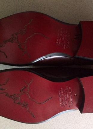 Срочно! новые эксклюзивные мужские туфли оксфорды ручной работы 43 р.