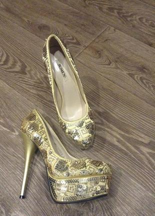 Шикарные туфли стрипоны