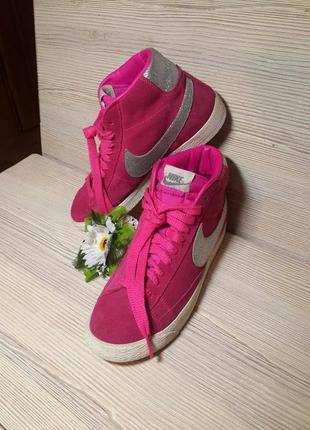 Брендовая обувь! обновления! ботинки кроссовки натуральный замш nike оригинал!