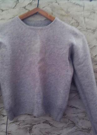 Мягкий кашемировый свитер marks & spencer