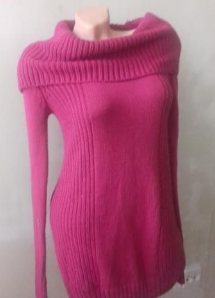 Свитер платье цвета фукции от divided