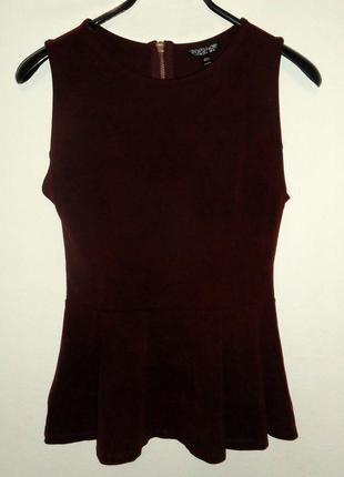 Нарядная блуза с баской, кофта