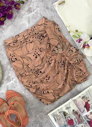 Интересная юбка с нежной драпировкой  ki1806105  h&m
