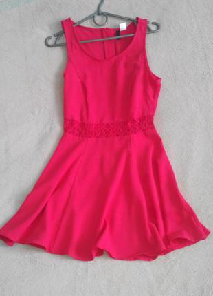 Червоне плаття h&m