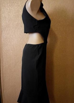 Платье экстравагантное топ по спине размер 12-14  boohoo1