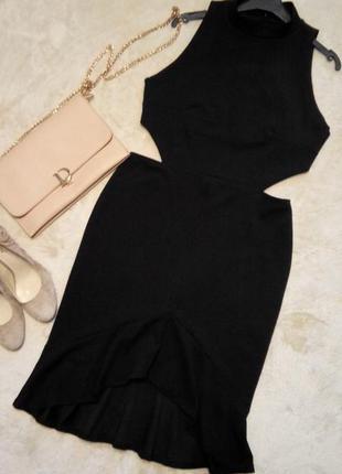 Платье экстравагантное топ по спине размер 12-14  boohoo3