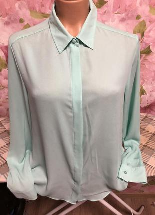Легкая шифоновая блуза/ рубашка