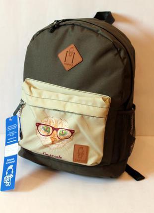 Рюкзак, ранец, городской рюкзак, спортивный рюкзак, кот