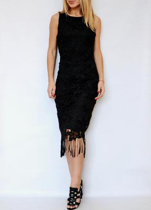 Платье miss selfridge с кружевом