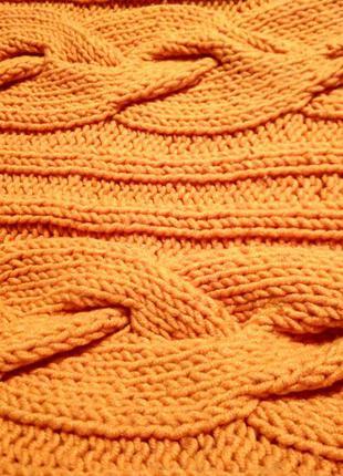 Теплый вязанный свитер, кофта, гольф, свитер2 фото