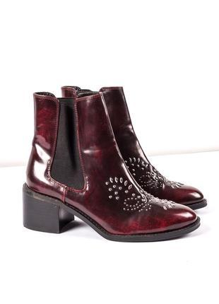 Стильные ботинки / челси mango, размер 40