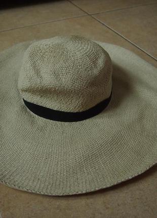 Широкополая шляпа h&m 57 см
