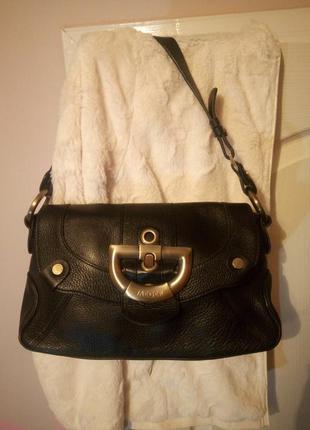 Оригинальная кожаная сумочка  jaeger