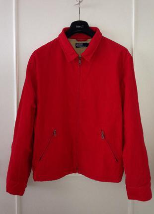 Стильная куртка ralph lauren l-xl. оригинал.