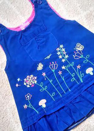 Big sale! яркий сарафан для маленькой модницы на 1-1,5 года