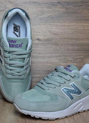Бирюзовые женские кроссовки New Balance 2019 - купить недорого вещи ... c5f95db0692