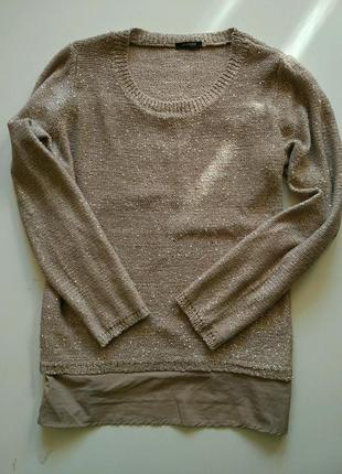 Нарядная и красивая кофточка - свитер