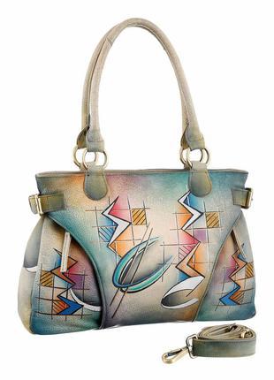 Эксклюзивная, экстраординарная сумка от бренда greenland, 100% кожа ручной выделки, новая
