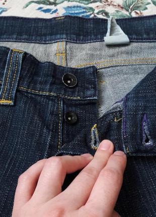 Джинсовые шорты с большими карманами3