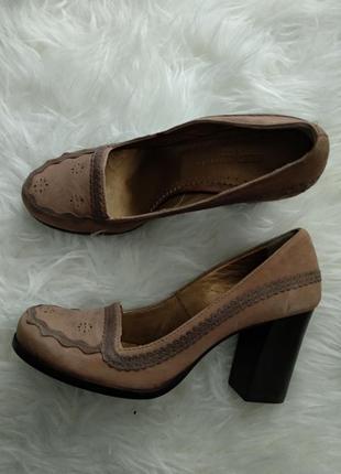 Туфли на устойчивом каблуке, 36