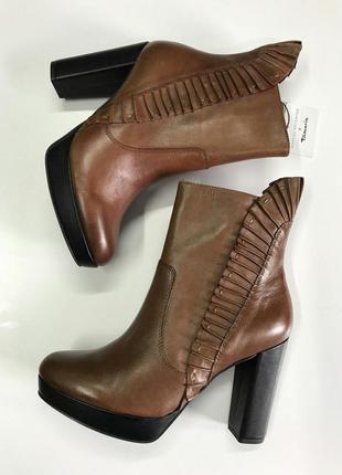 Tamaris чобітки шкіра, всі розміра!