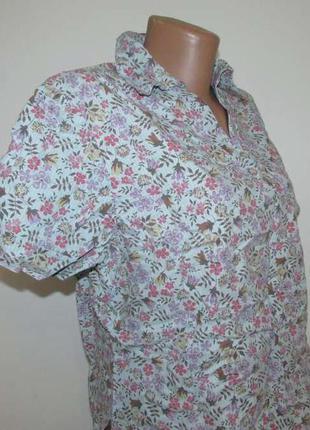 Блузка ensuite, хлопок, l. как новая!