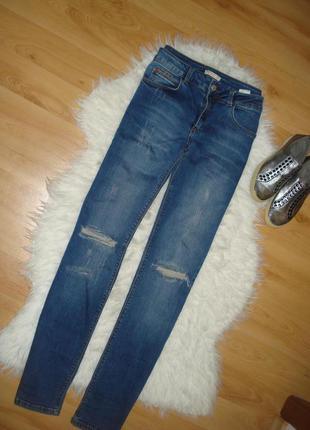 Джинысы, брюки, штаны стрейч-коттон, m-l