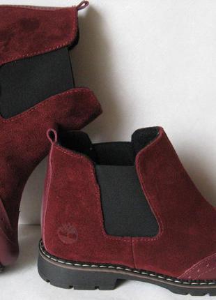 Timberland 2018! женские ботинки челси оксфорд замша кожа тимберланд