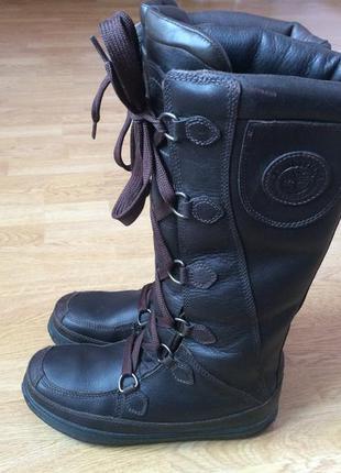 Зимние кожаные ботинки timberland оригинал 41 размера в отличном состоянии