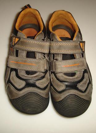 Geox туфли, ботнки р 33, стелька 21,5 см кожа внутри, кожа снаружи