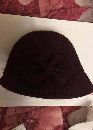 Женская шляпка бардо  от accessorize