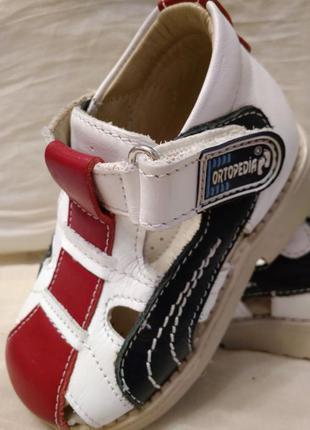 Ortopedia кожаные туфли-босоножки