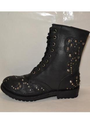 """Р.40.5 голландия,""""spm"""", натуральная кожа! дизайнерские,комфортные,добротные сапоги ботинки"""