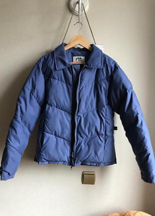 Теплая укороченная куртка с-м осень-зима