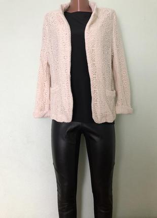 Ажурный пиджак блейзер жакет