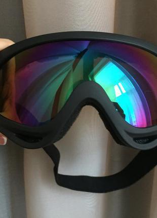 Маска лыжная. очки для лыж, сноуборда.