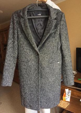 Теплое пальто oodji