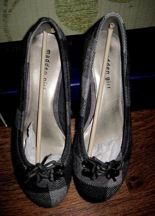 Туфли  madden girl ,размер написан 38 но идут на 37
