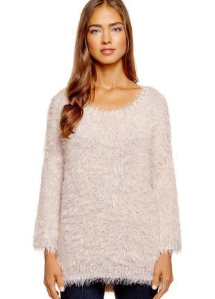 Очень теплый джемпер свитер, р. 54-56