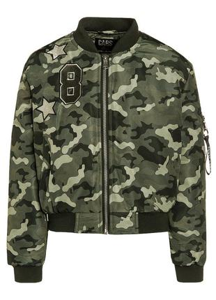 Куртка-бомбер cars jacket becky olive
