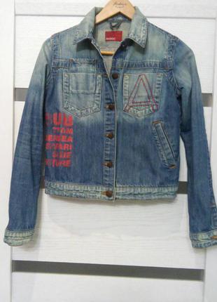 Джинсовая куртка madoc