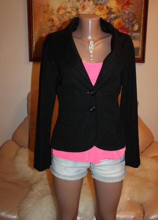 H&m черный пиджак размер s h&m h&m