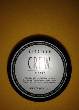Паста сильной фиксации american crew fiber 85g