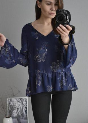 Блузка с воланами george