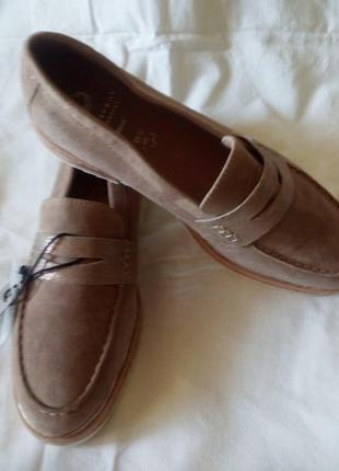 Туфли-лоферы кожаные.германия.,,jana,,размер 40