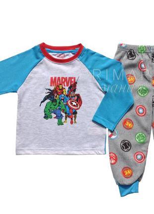"""Пижама для мальчика """"марвел"""" (1.5-7 лет) marvel  отправка нп бесплатно"""