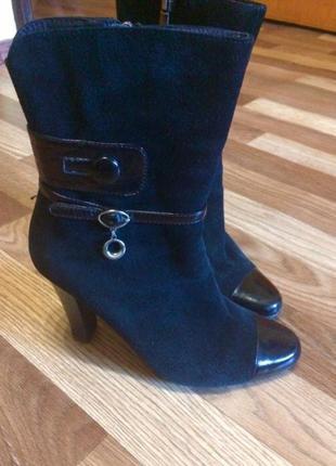 Замшевые ботиночки medea2