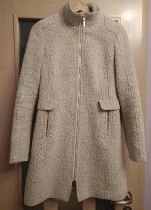 Молочне пальто шерстяне\молочное пальто шерстяное