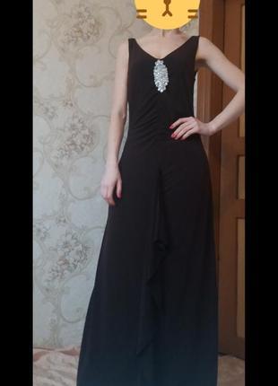Вечернее платье в пол asos