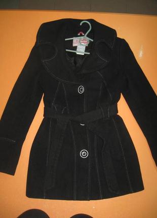 Кашемірове пальто р. xs-s